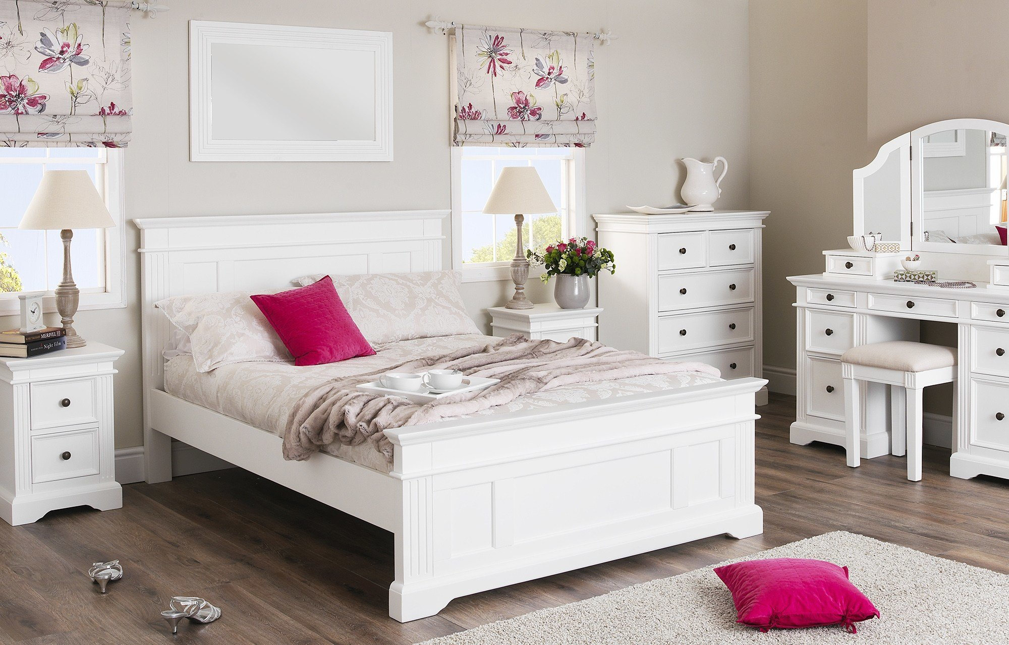 Best Purple Bedroom White Furniture Cileather Home Design Ideas With Pictures