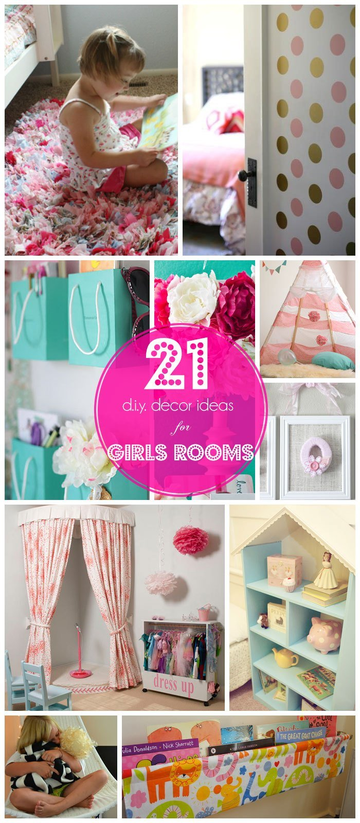 Best 21 Diy Decorating Ideas For Girls Room With Pictures