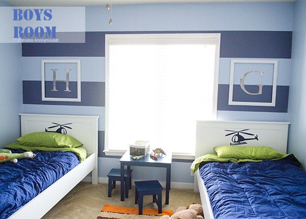Best Craftaholics Anonymous® Boys Room Makeover Reveal With Pictures