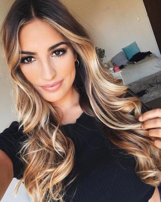 Free Most Popular Latest Ombre Hair Color Hairstyling Trends Wallpaper