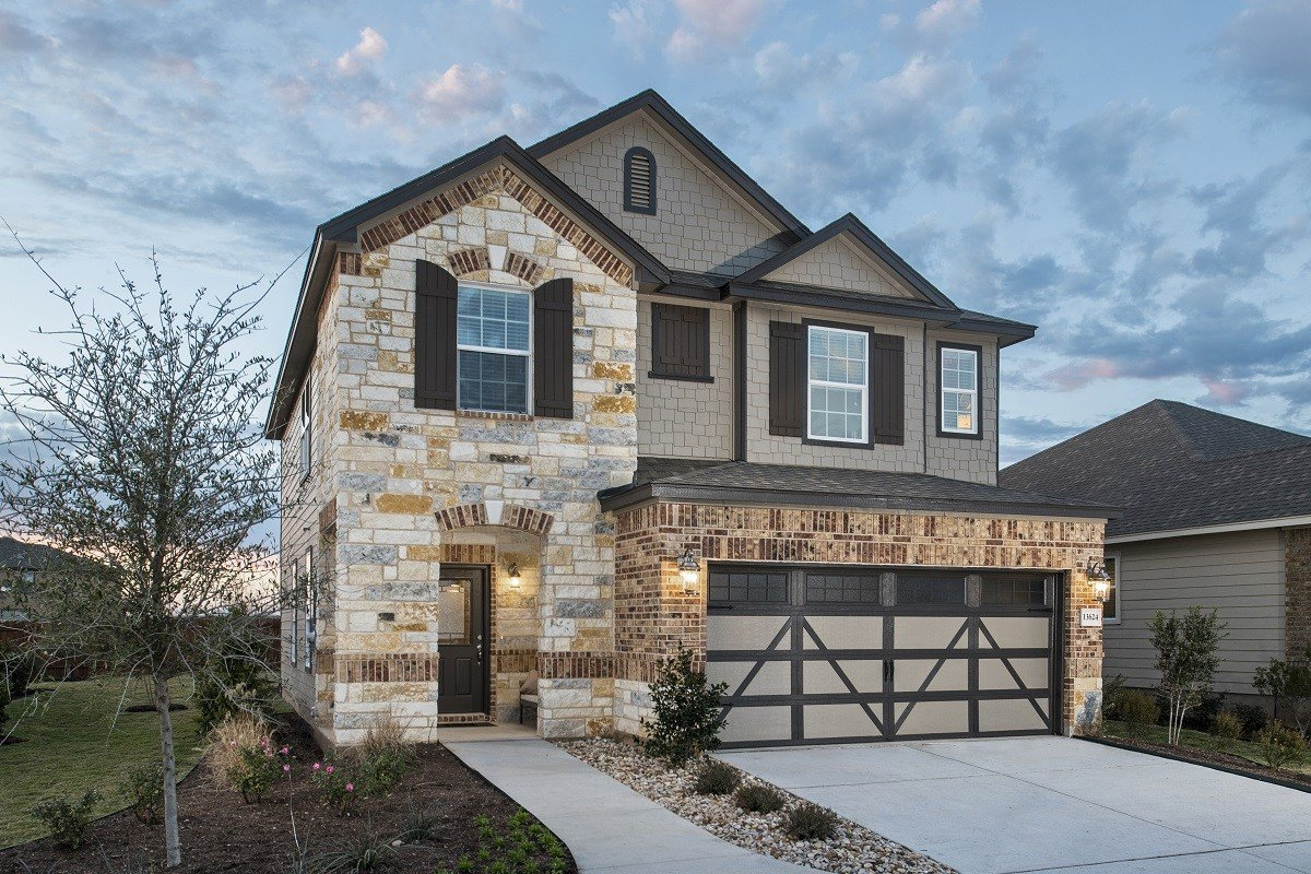 Best New Homes For Sale In Manor Tx Presidential Meadows With Pictures