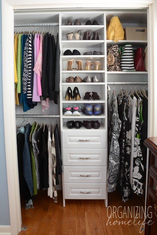 Best Master Bedroom Closet Organization The Reveal Surprise With Pictures