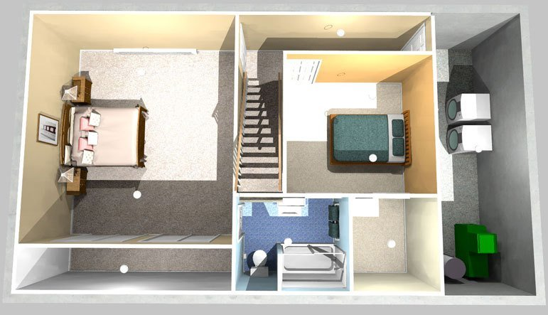 Best Two Bedrooms One Bath Project Simply Additions With Pictures