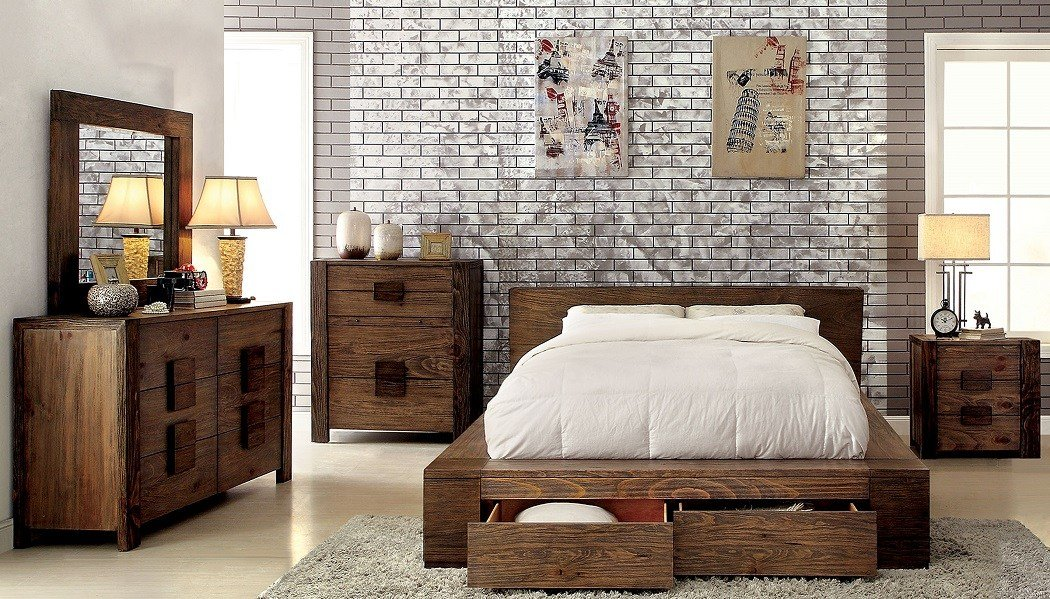 Best Janeiro Collection Cm7629 Furniture Of America Bedroom Set With Pictures