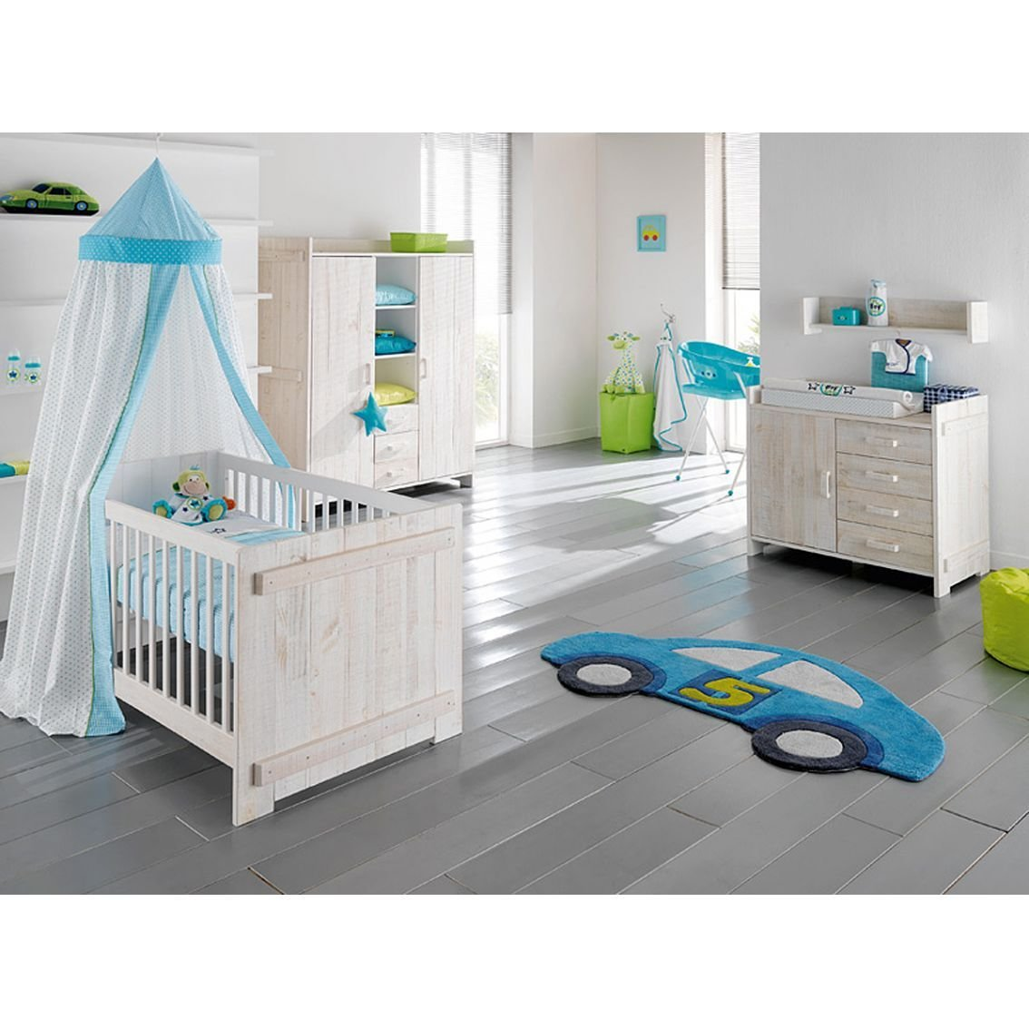 Best Kidsmill Europe Baby Jelle White Nursery Furniture Set With Pictures