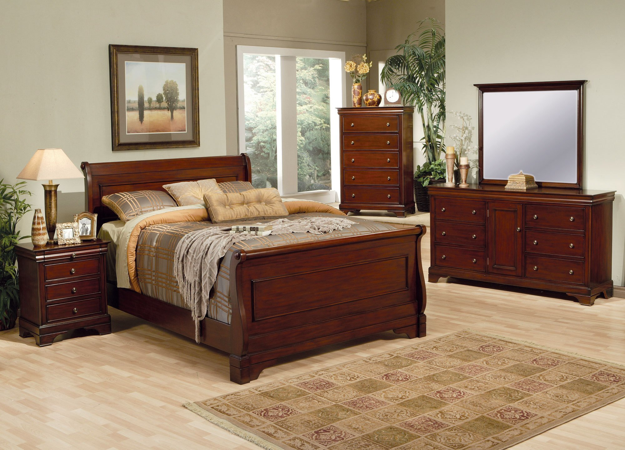 Best Coaster Furniture Versailles Collection Mahogany Bedroom With Pictures