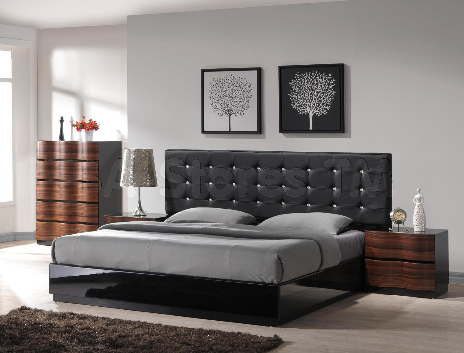 Best Elegant Contemporary Nightstands 2203 Latest Decoration With Pictures