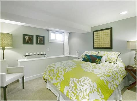 Best Basement Bedroom With A Simple Color Scheme Basement With Pictures