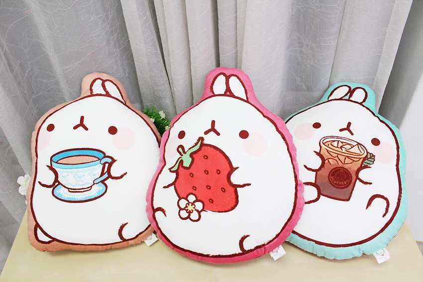 Best Molang Cute Rabbit Home Deco Room Bedding Car Interior With Pictures