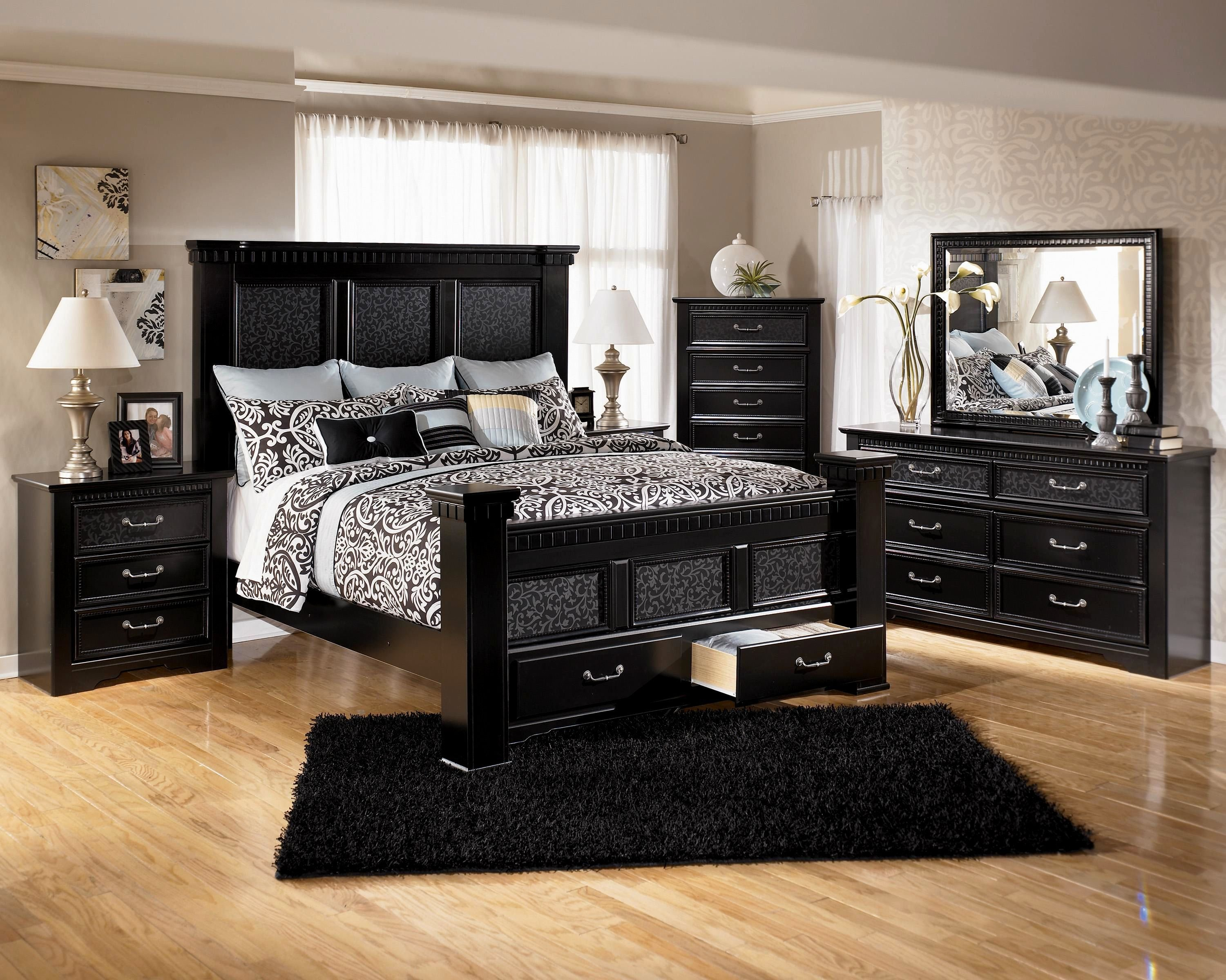 Best Awesome Bedroom Sets On Sale Model Bedroom Decorating With Pictures