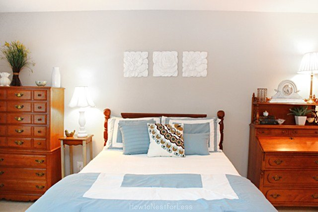 Best Guest Bedroom Makeover How To Nest For Less™ With Pictures