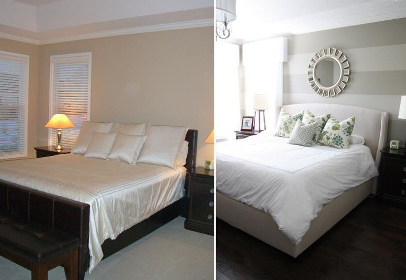 Best 14 Jaw Dropping Master Bedroom Before And After Pictures With Pictures