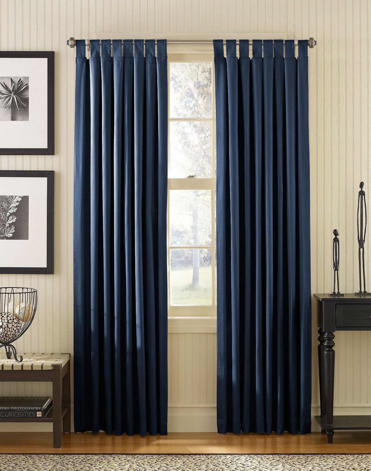 Best Navy Blue Bedroom Curtains Decor Ideasdecor Ideas With Pictures