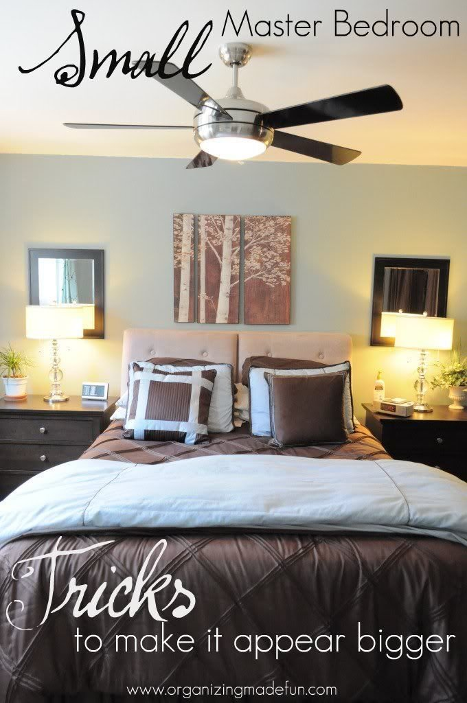 Best Our Master Bedroom Tricks To Make It Feel Bigger Organized Organizing Made Fun Our Master With Pictures