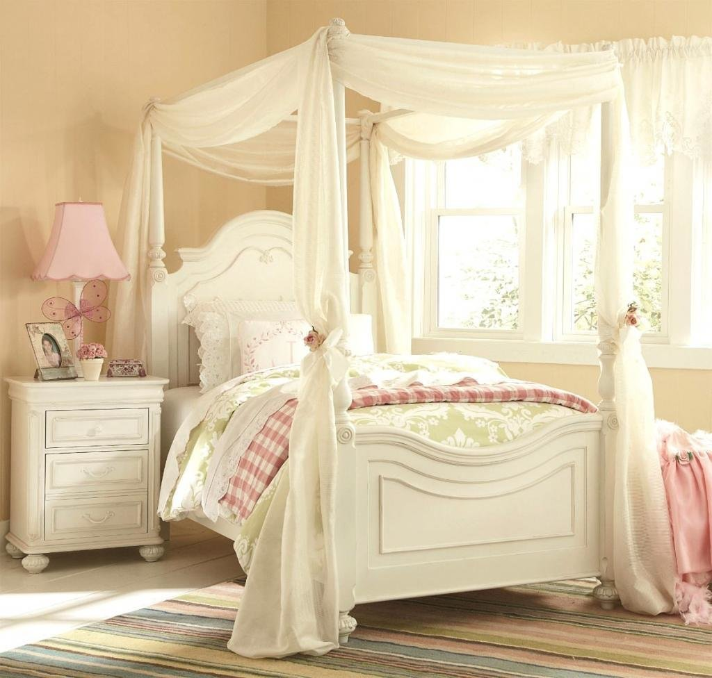 Best Enchanting Girls White Bedroom Furniture With Whtie With Pictures
