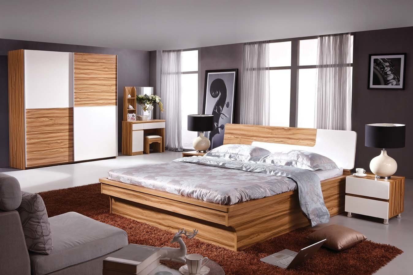Best China Bedroom Set 5518 China Mdf Bedroom Set Bedroom With Pictures