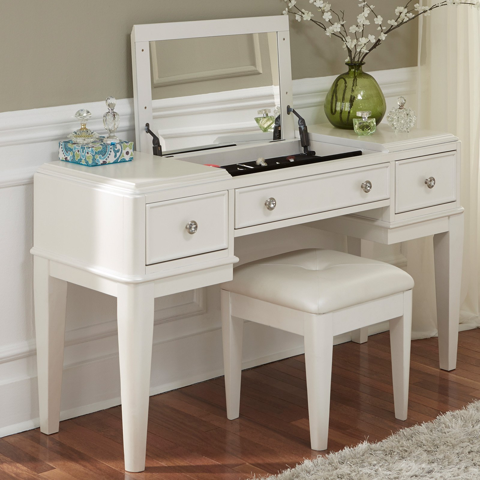 Best Liberty Furniture Stardust Bedroom Vanity With Optional With Pictures