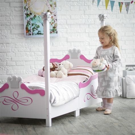 Best Kidkraft Toddler Bed Princess Disney Canopy Bedroom With Pictures