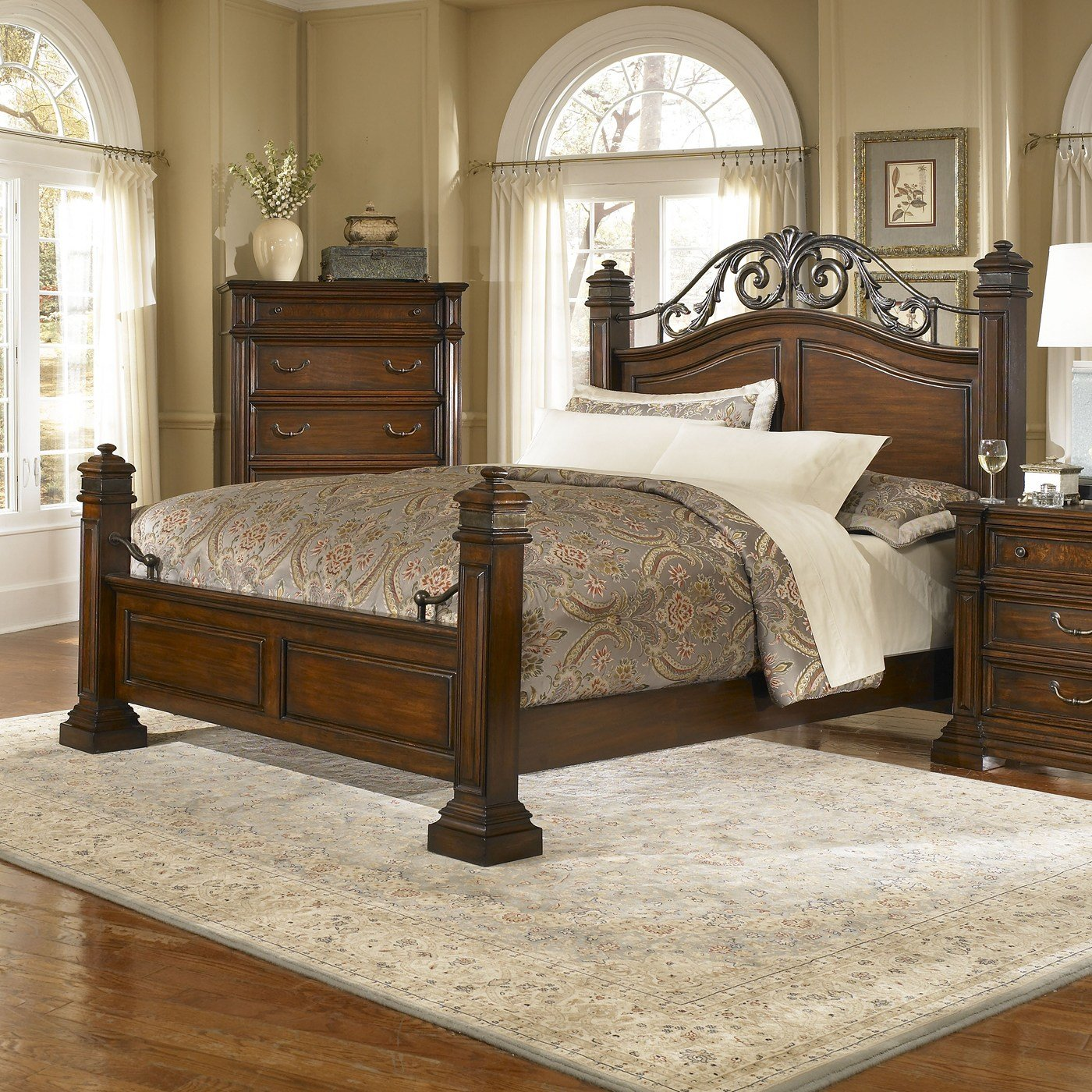 Best Progressive Furniture P166 Regency Panel Bed Atg Stores With Pictures