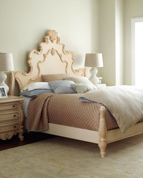 Best Nicolette Cream Bedroom Furniture With Pictures