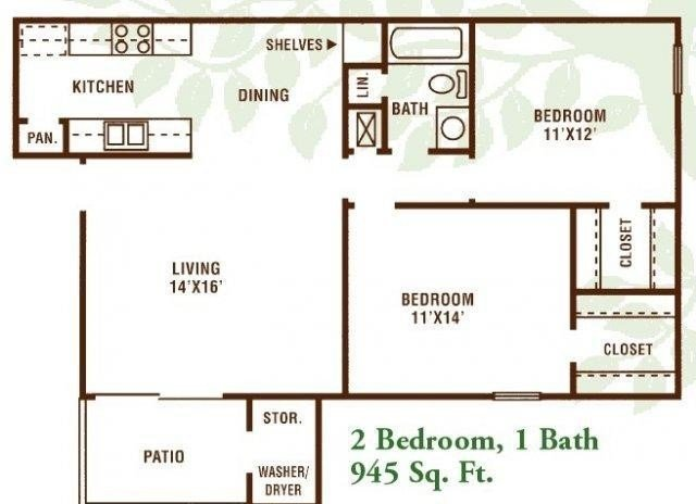 Best 2 Bedroom 1 Bath Apartment Available For Rent In Bosco With Pictures