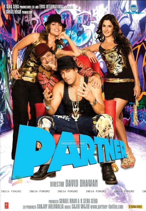 Best Partner Posters Partner Poster With Salman Govinda With Pictures