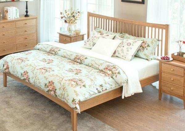 Best King Size Natural Wood Bedroom Set Economic Cherry Wood Bedroom Furniture 107898883 With Pictures