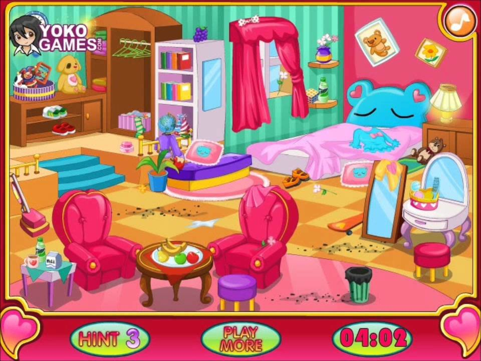 Best Clean My Room Video For Kids Cleaning Game Girls Games With Pictures