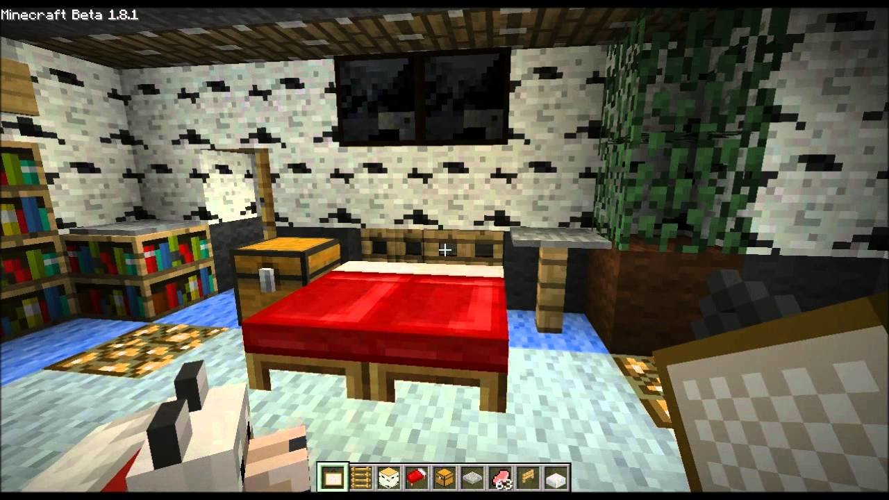 Best Minecraft Home Design Ep 16 Small Bedroom Bed Trick And The Attic Youtube With Pictures
