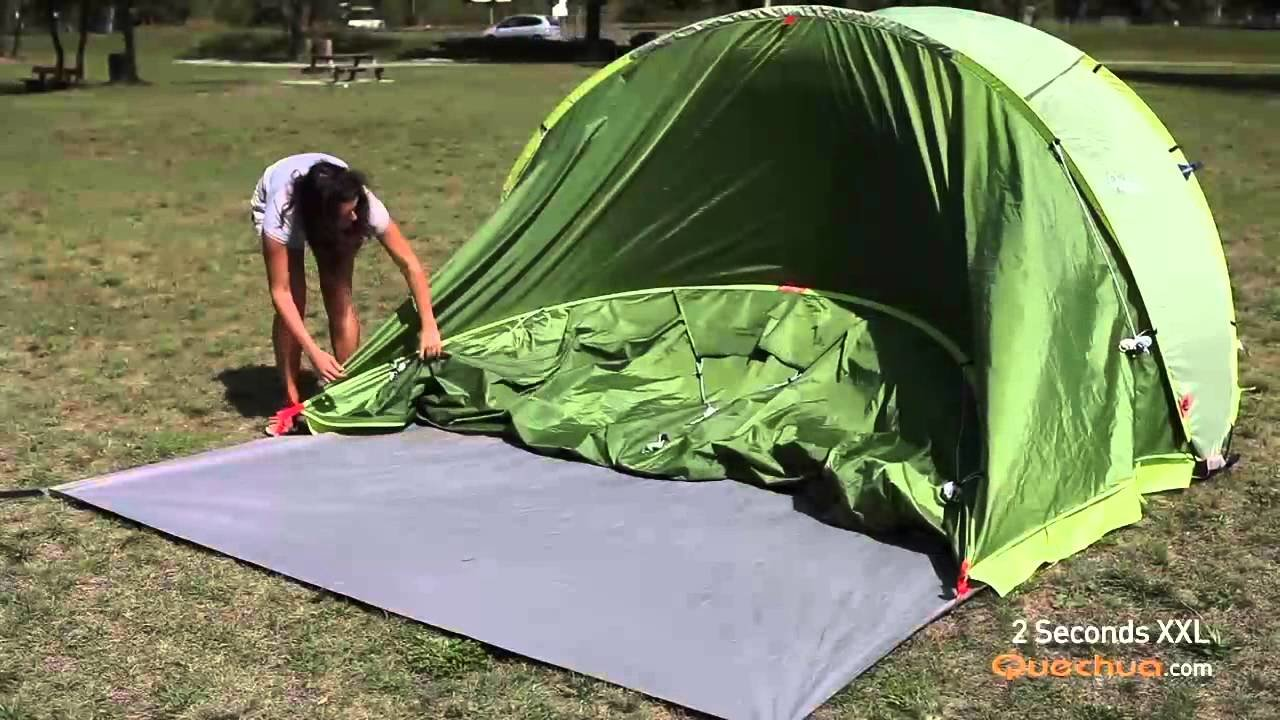 Best Quechua 2 Seconds Xxl Pop Up Tent Youtube With Pictures