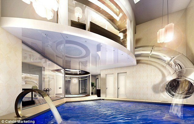 Best Unveiled Britain S First £2M Underground Mansion Designed To Keep Away Prying Eyes Daily Mail With Pictures