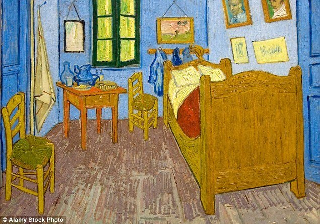 Best Room Identical To Vincent Van Gogh S Bedroom In Arles Is With Pictures