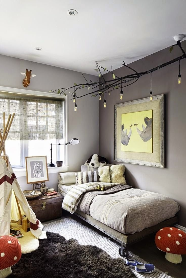 Best Picture Of Diy Celing Light Fixture Of Branches Is A Nice With Pictures