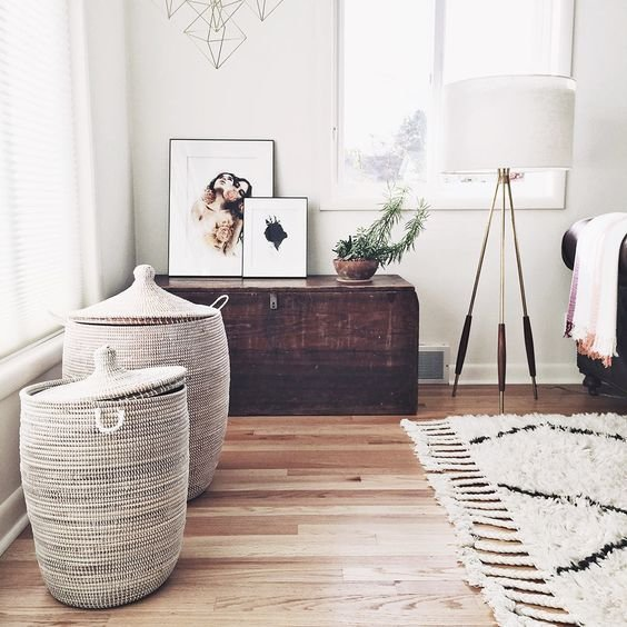 Best 26 Cool Ways To Use Baskets At Home Decor Shelterness With Pictures