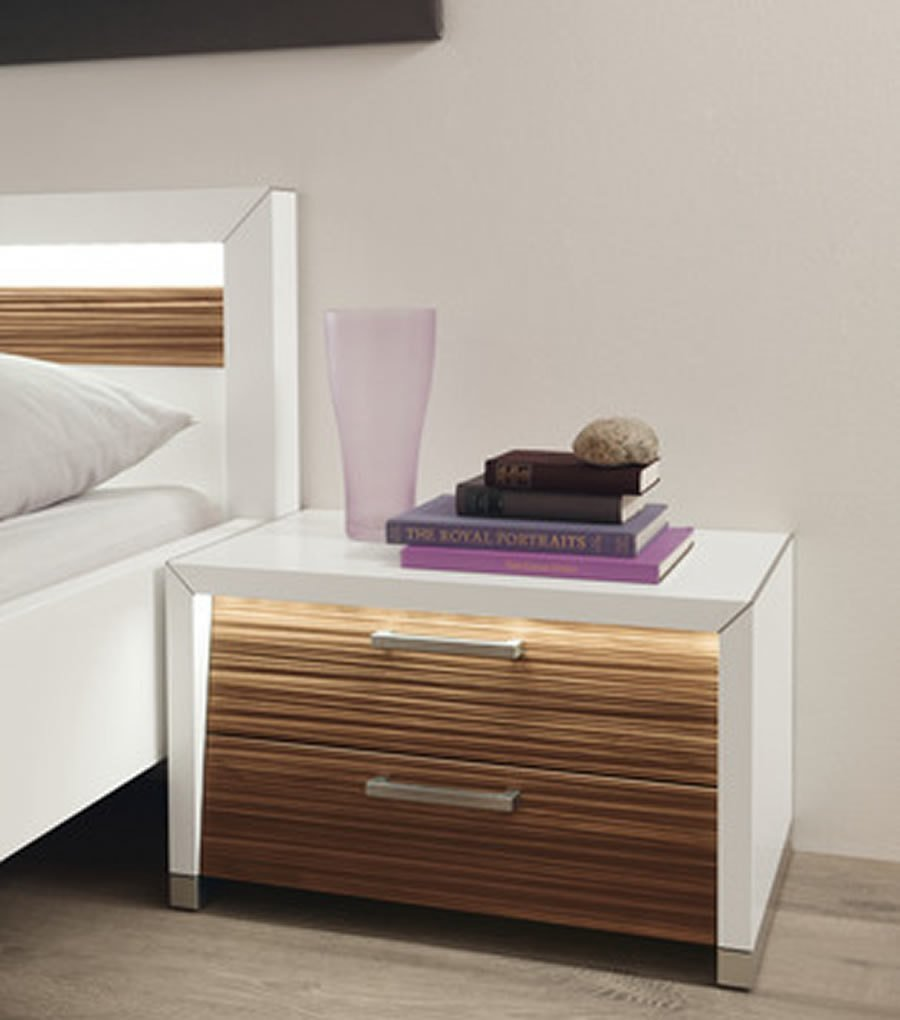 Best White Bedside Table » Inoutinterior With Pictures