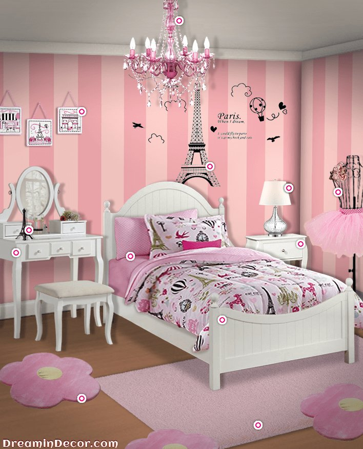 Best The Ultimate Decor For A Paris Themed Bedroom Kids Room With Pictures