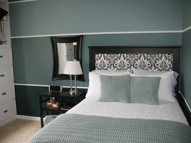 Best Str*P Walls With Walpapered Headboard Ladulcelavie With Pictures