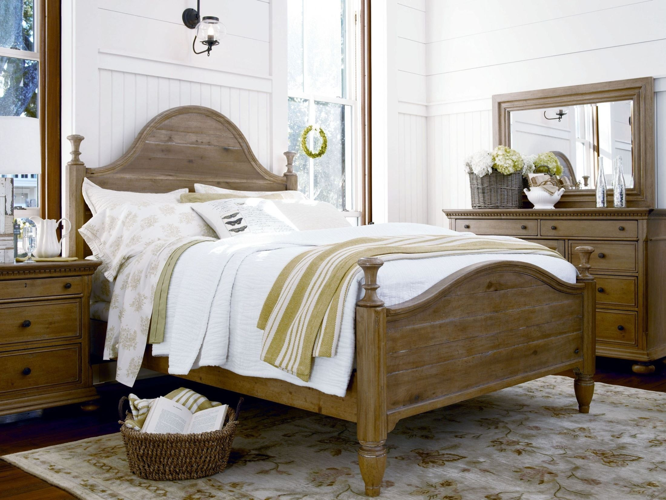 Best Down Home Oatmeal Bedroom Set From Paula Deen 192280B With Pictures