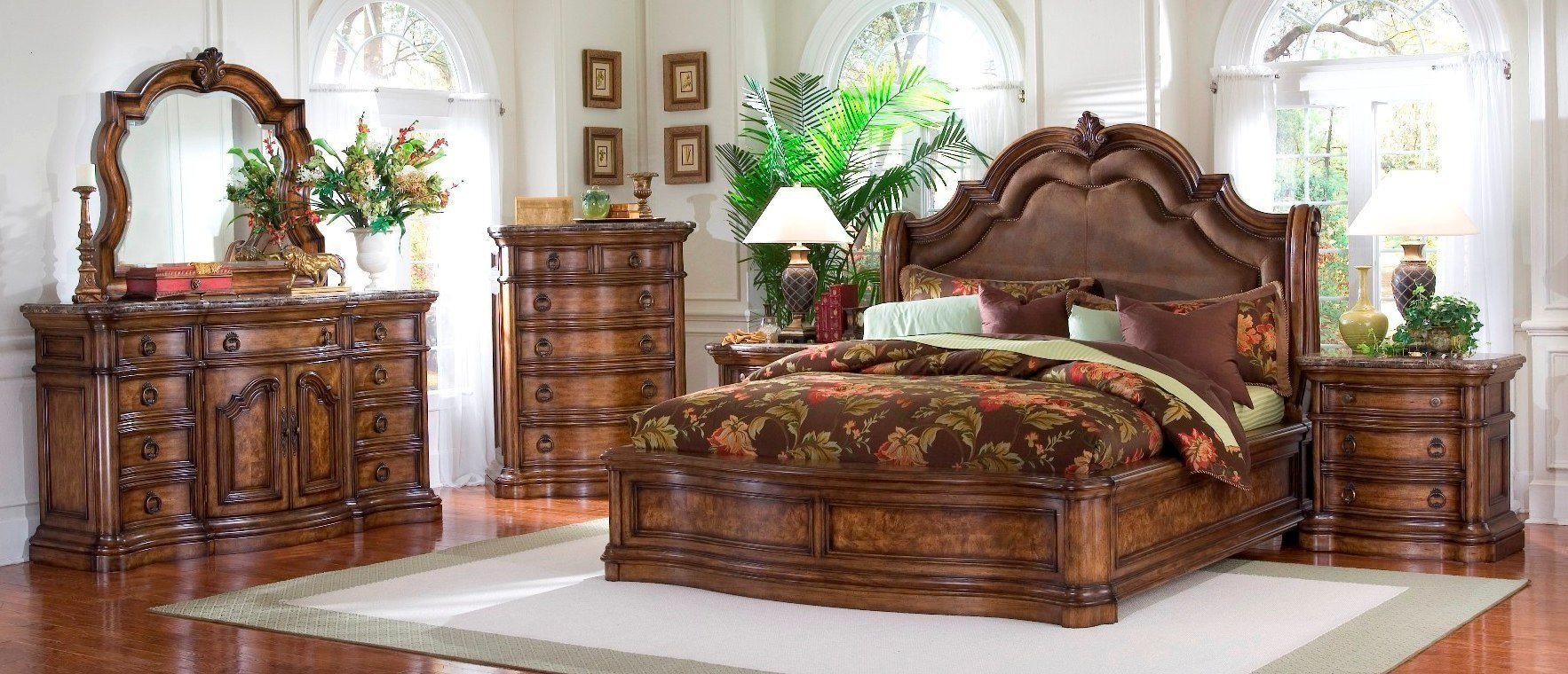 Best San Mateo Sleigh Bedroom Set From Pulaski 662170 662171 662172 Coleman Furniture With Pictures