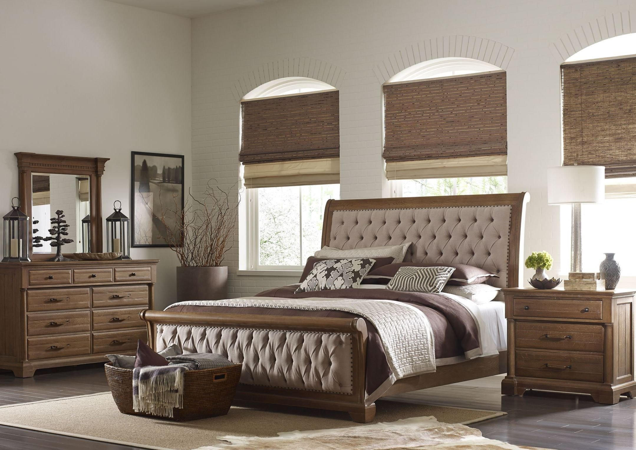 Best Stone Ridge Sleigh Bedroom Set From Kincaid 72 150P With Pictures