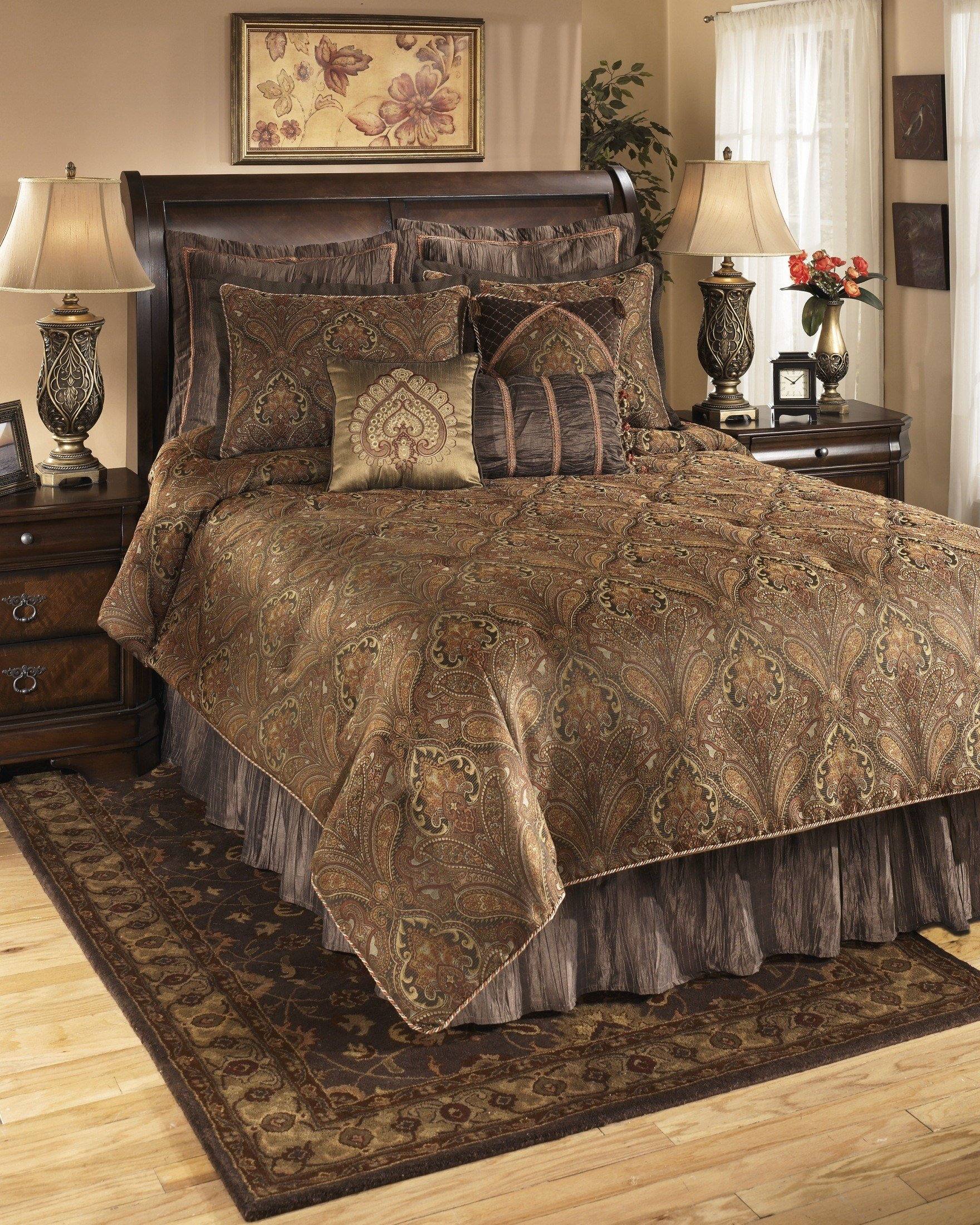Best Bellingham Moroccan Queen Bedding Set Q162005Q Ashley Furniture With Pictures