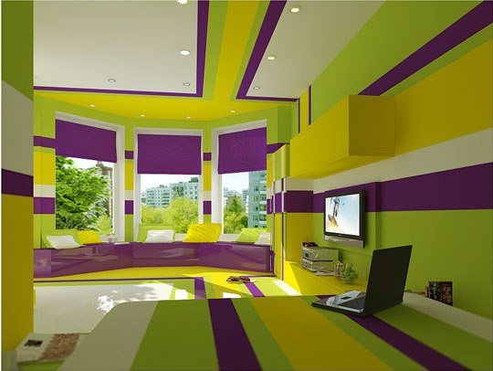 Best Lime And Purple Bedroom Decoholic With Pictures