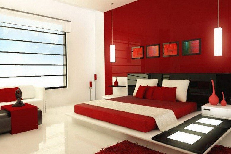 Best Red And White Master Bedroom Color Ideas Decolover Net With Pictures
