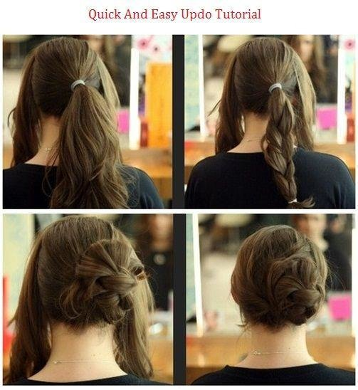 Free Quick Easy Updo Hairstyles How To Wallpaper