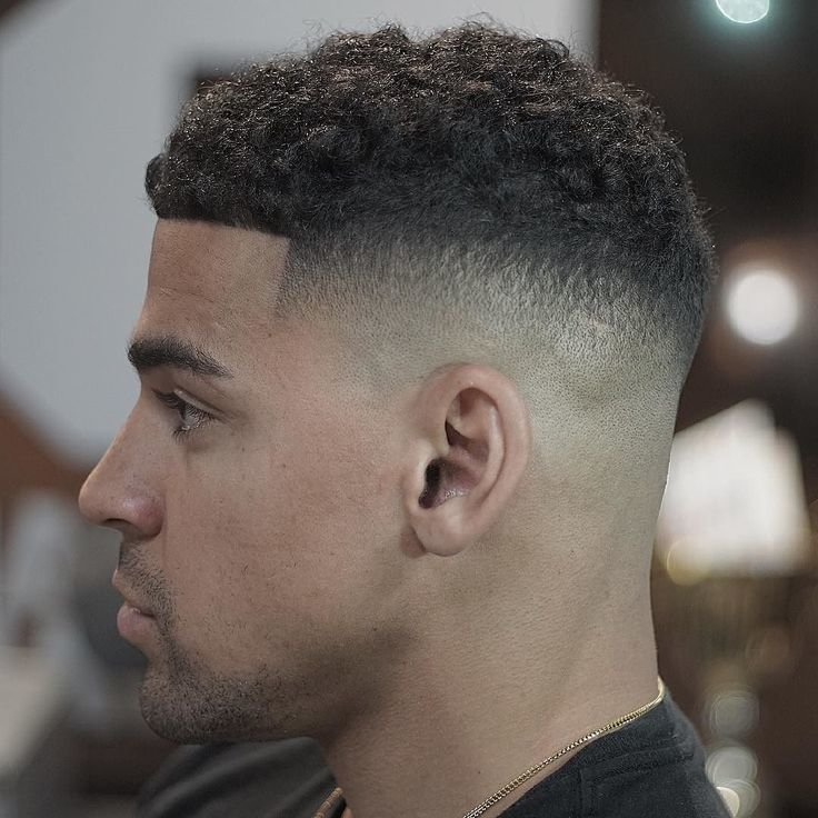 Free 50 Fade And Tapered Haircuts For Black Men Wallpaper