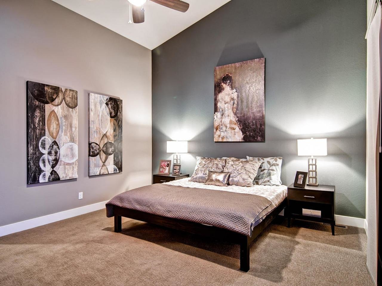 Best Gray Master Bedrooms Ideas Hgtv With Pictures