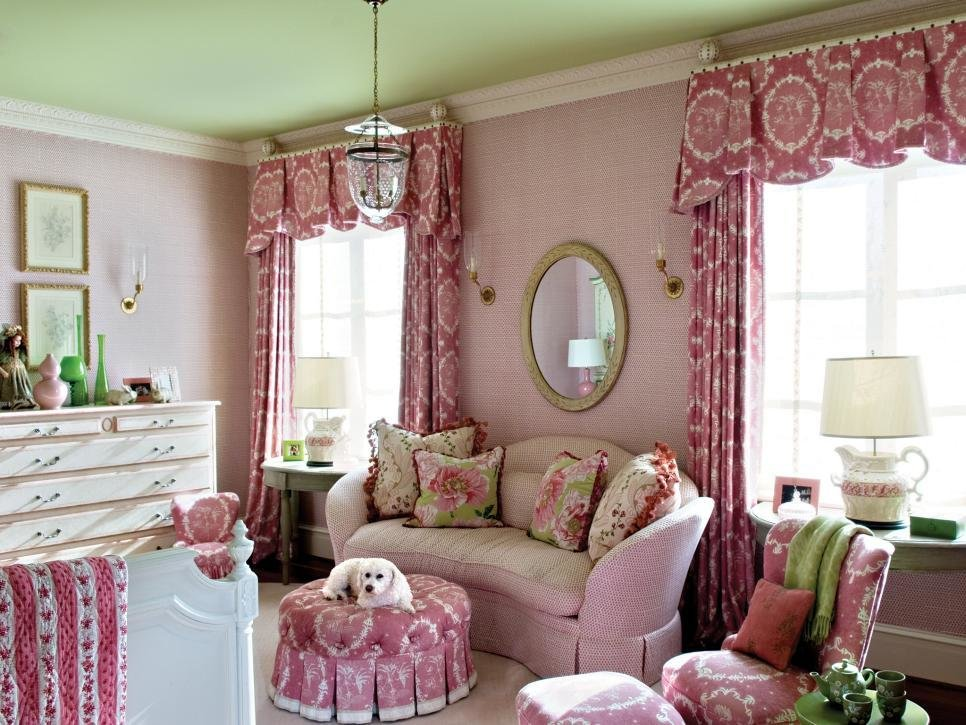 Best Pink And Green Rooms Hgtv With Pictures