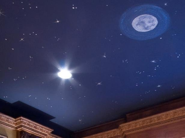 Best Bedroom Ceiling Stars Hgtv With Pictures