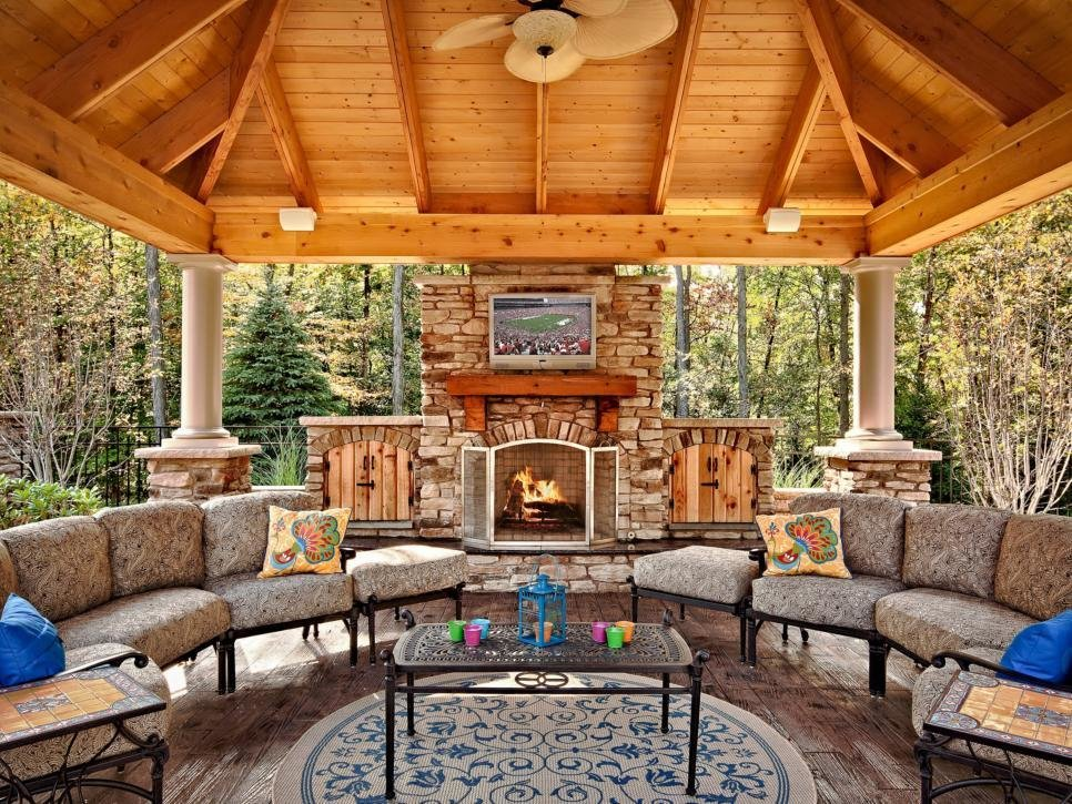 Best Essentials For Creating A Beautiful Outdoor Room Hgtv With Pictures