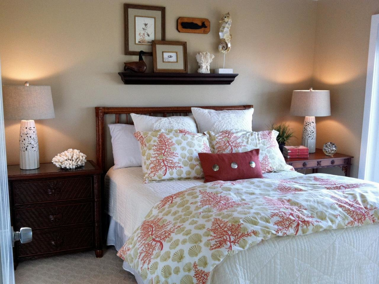 Best Coastal Inspired Bedrooms Bedrooms Bedroom Decorating Ideas Hgtv With Pictures